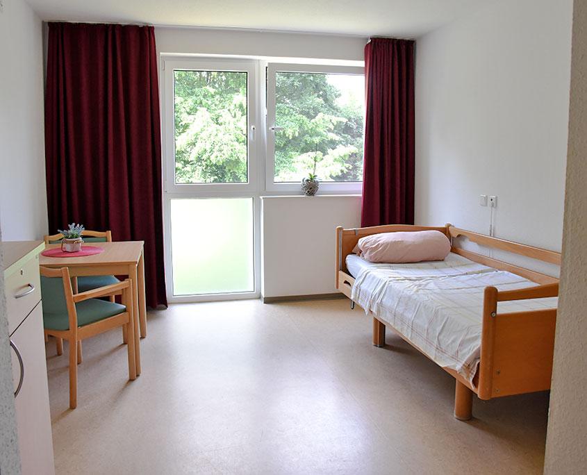 Pflegeheim Haus Beatrix Einzelzimmer